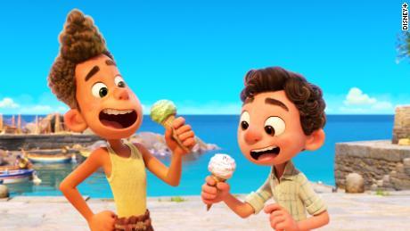 Two sea monsters get a taste of dry land in Pixar's 'Luca' (Disney+).
