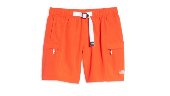 The North Face Class V Belted Swim Trunks