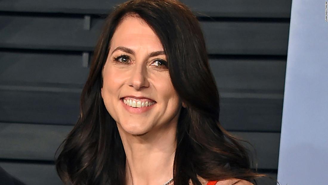 MacKenzie Scott is giving away another $2.74 billion