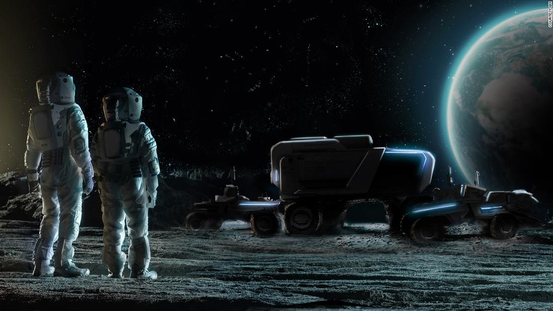 The 1970s moon buggies are still up there. GM and Lockheed Martin want to make new ones