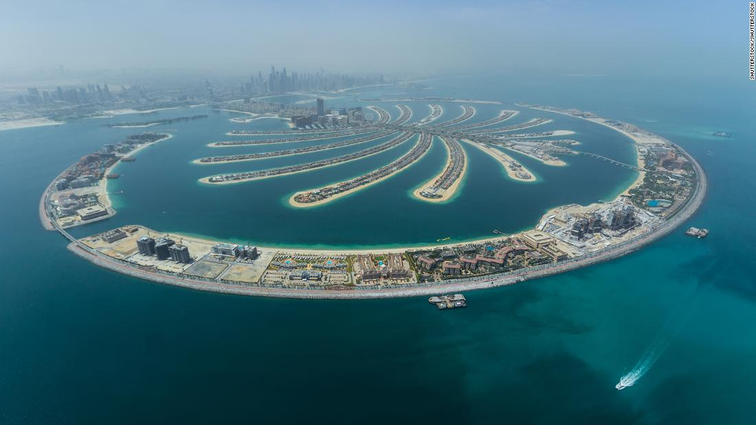 Palm Jumeirah, Dubai's iconic man-made islands, turns 20