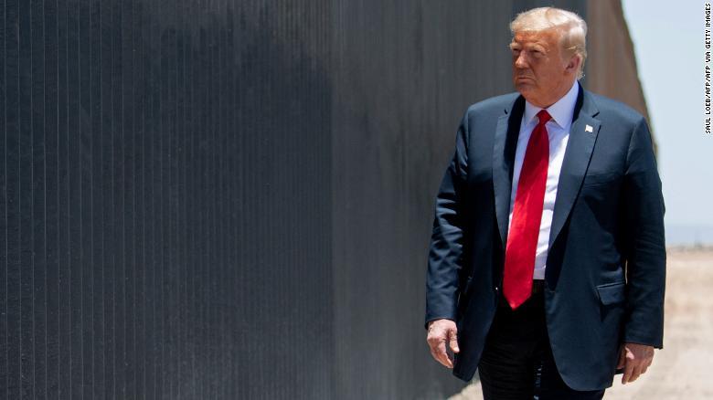 Trump visits the South Texas border amid a shift in the region toward Republicans