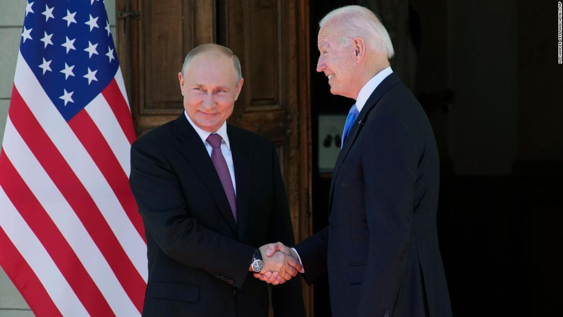 Putin thanks Biden for the 'initiative to meet' at high-stakes summit