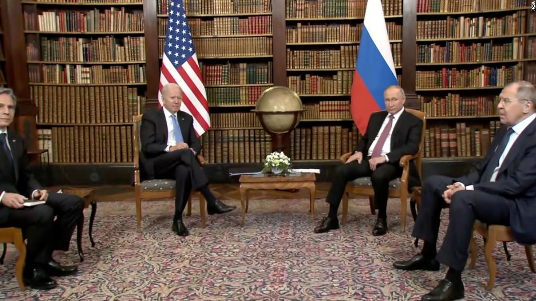 After a stone-faced start, Biden and Putin enter the second round of talks