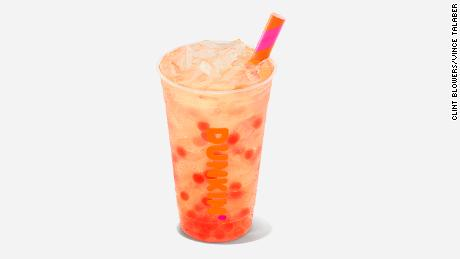 Dunkin' is selling Popping Bubbles.