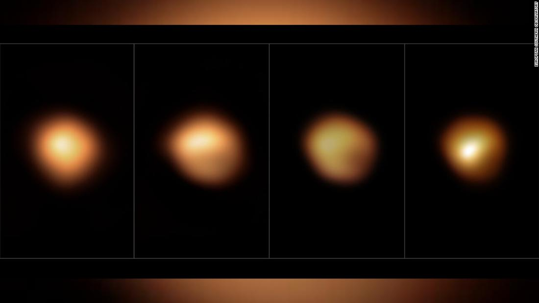New images help solve celestial mystery of Betelgeuse's great dimming