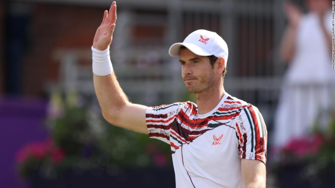 Emotional Andy Murray breaks down following winning return to Queen's Club