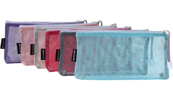 Sea Team Multicolored Portable Travel Pouch