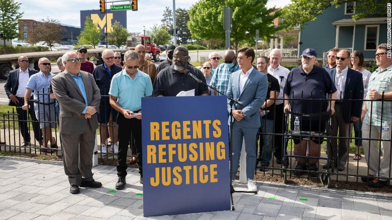Survivors of Dr. Robert Anderson's sexual abuse at the University of Michigan call for broader investigation