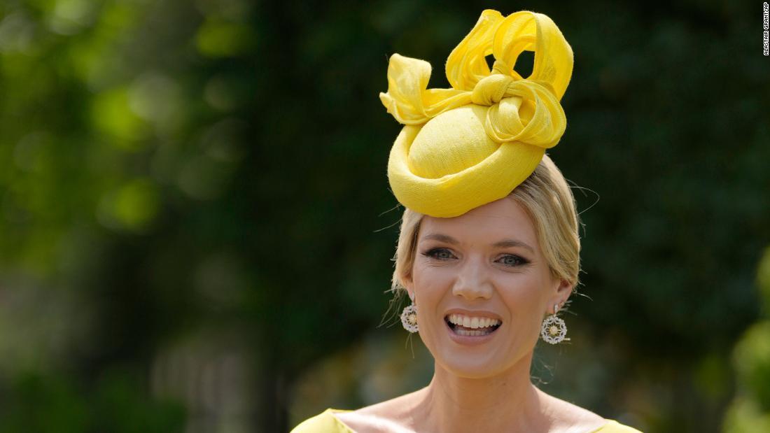 Extravagant hats on display at Royal Ascot 2021