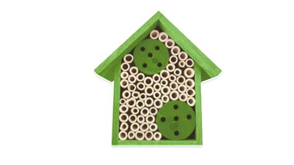 Mason Bamboo Bee House
