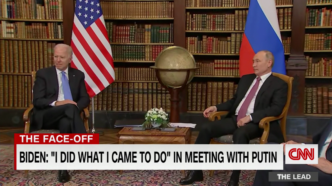 Biden: 'I think there's a genuine prospect to significantly improve' U.S.-Russia relations - CNN Video