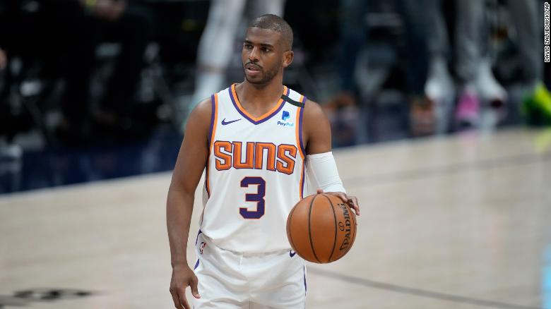Chris Paul indefinitely sidelined from NBA playoffs as part of the league's Covid-19 protocols