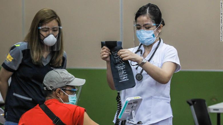 Philippines plans to double its limit on health care workers deployed overseas
