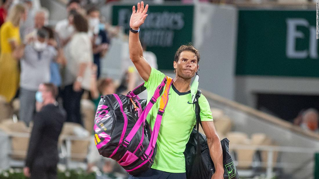 Rafael Nadal pulls out of Wimbledon and Tokyo Olympics – CNN International