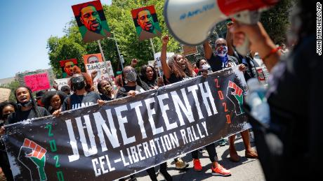 Don't get comfortable after getting Juneteenth holiday