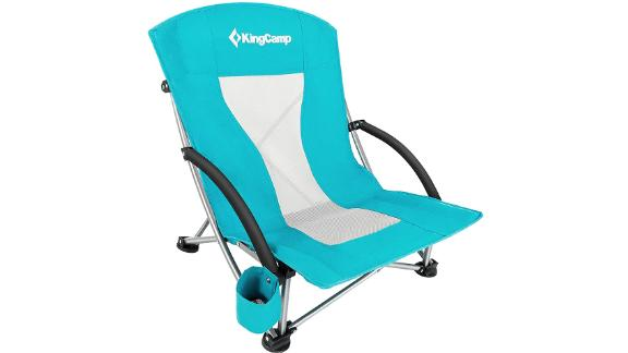 King Camp Low Sling Beach Chair