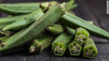 One cup of okra gives you 3 grams of fiber.