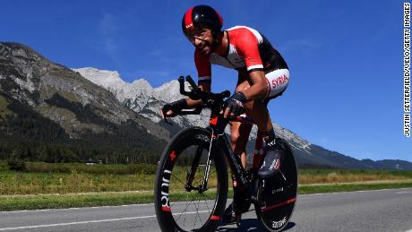 يتنافس أحمد بدر الدين وايز في سباق الوقت التجريبي البالغ طوله 52.5 كيلومترًا من روتنبرغ إلى إنسبروك في بطولة العالم رقم 91 لالتحاد الدولي للطرق في سبتمبر 2018.