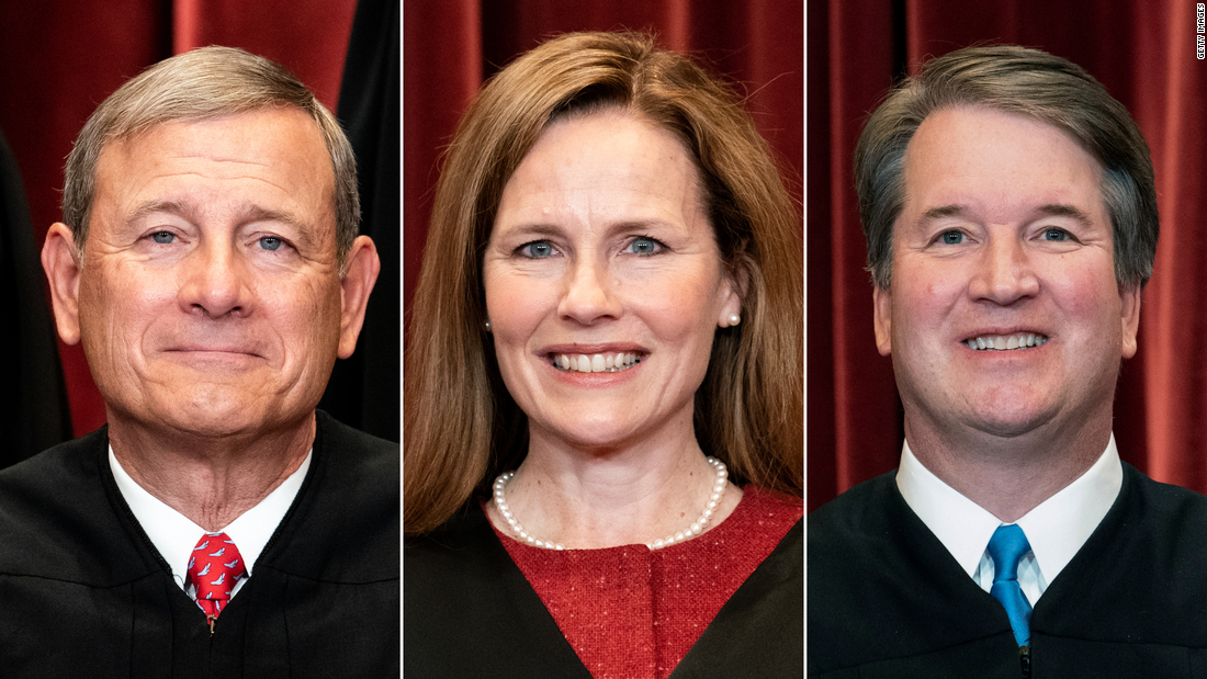A 6-3 conservative Supreme Court? It's actually 3-3-3