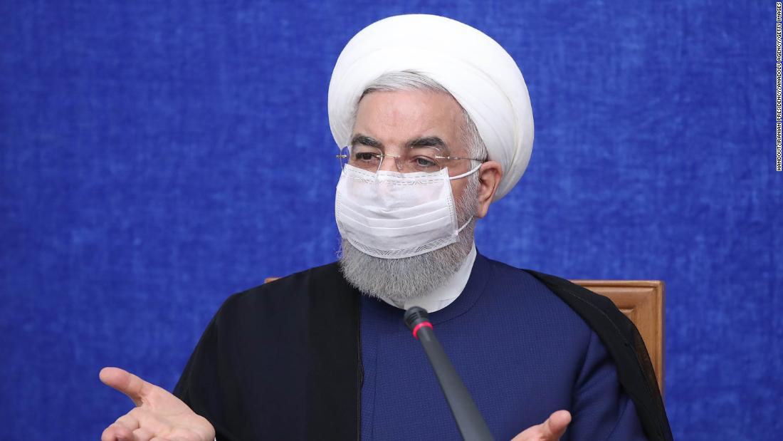 Iran's outgoing President Rouhani meets with successor