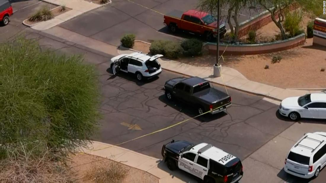 At least one person is dead and a dozen hurt after 8 shootings in West Valley area of metro Phoenix