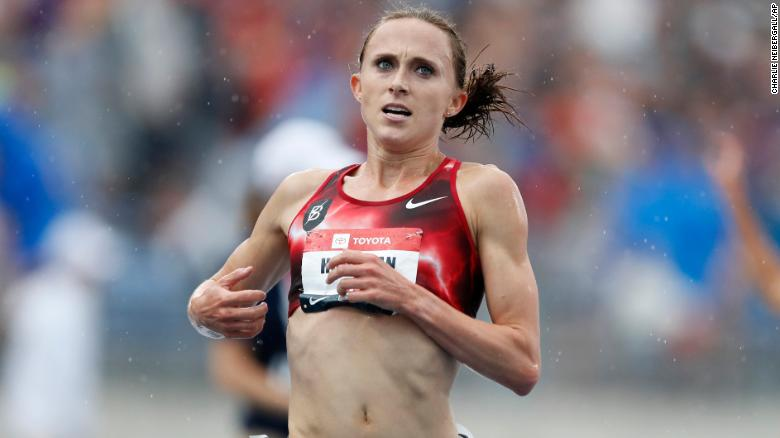 Olympic hopes appear to dim for US runner Shelby Houlihan who blames pork burrito for a 4-year doping ban