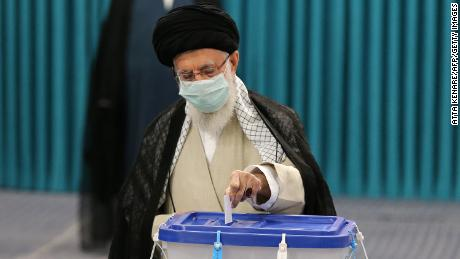 Khamenei cast his ballot on Friday and called on Iranians to get to the polls.