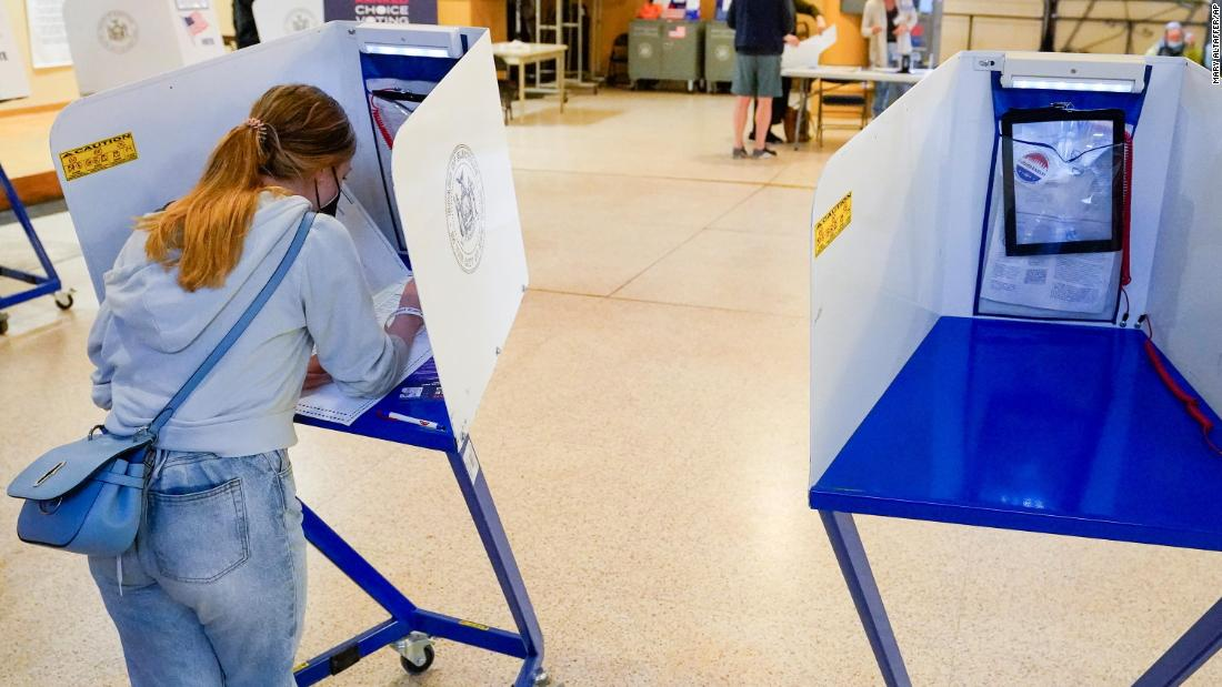 NYC mayoral primary election