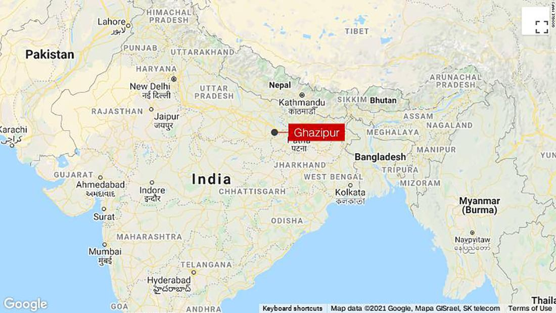 Newborn girl found abandoned in a wooden box floating in India's holiest river