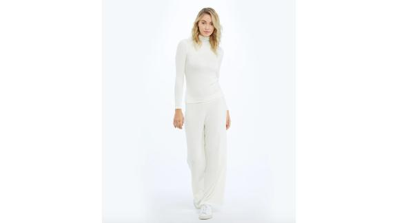 The Softest Ribbed Wide Leg Lounge Pant