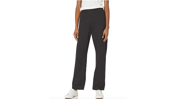 Hanes Women's EcoSmart Open Bottom Leg Sweatpant