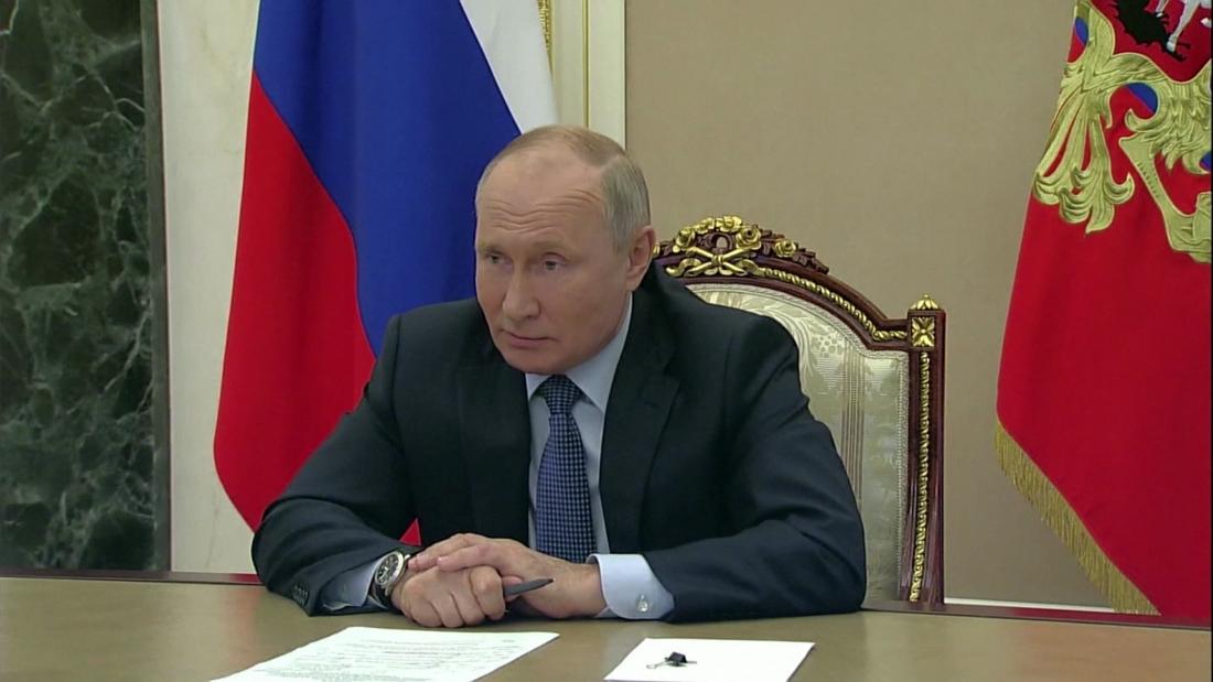 Hear Putin offer rare praise for President Biden