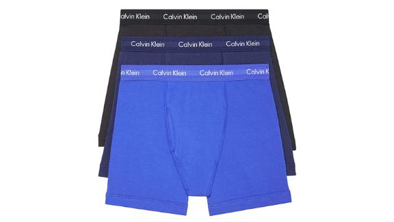 Calvin Klein Men's Cotton Stretch Multipack Boxer Briefs, 3-Pack