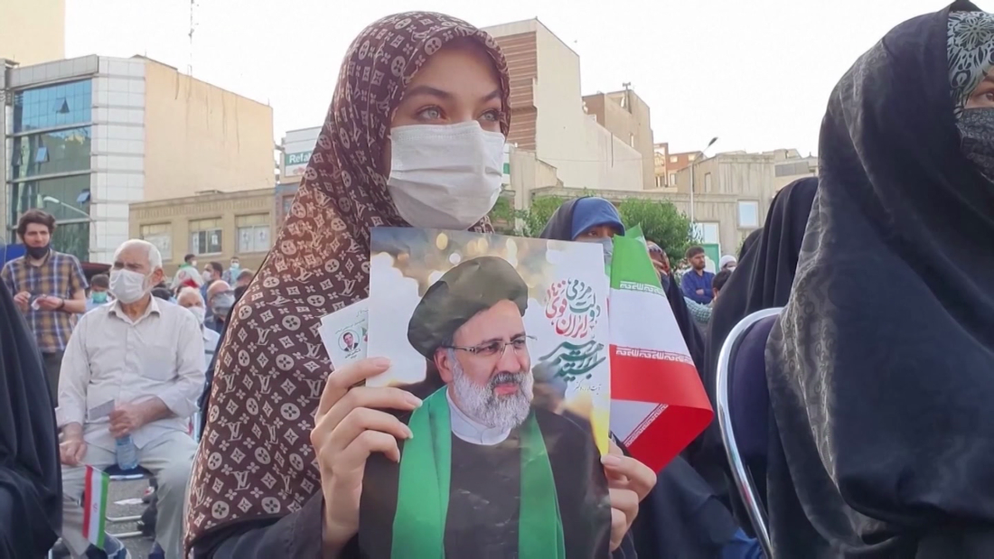 Hear from Iranian voters as they head to polls in presidential election