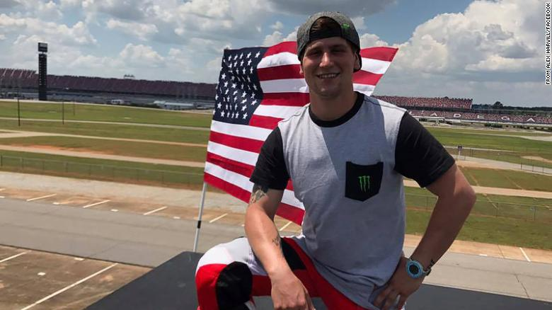 """Daredevil <a href=""""https://www.cnn.com/2021/06/18/us/alex-harvill-death/index.html"""" target=""""_blank"""">Alex Harvill</a> died June 17 while practicing for a world-record motorcycle ramp jump, officials in Washington state said. He was 28 years old. Harvill was hoping to break the record of a 351-foot jump, according to the Moses Lake Airshow, where his attempt was scheduled."""