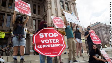 Analysis: Fed up with Congress, Democratic activists worried about state voter restrictions take matters into their own hands