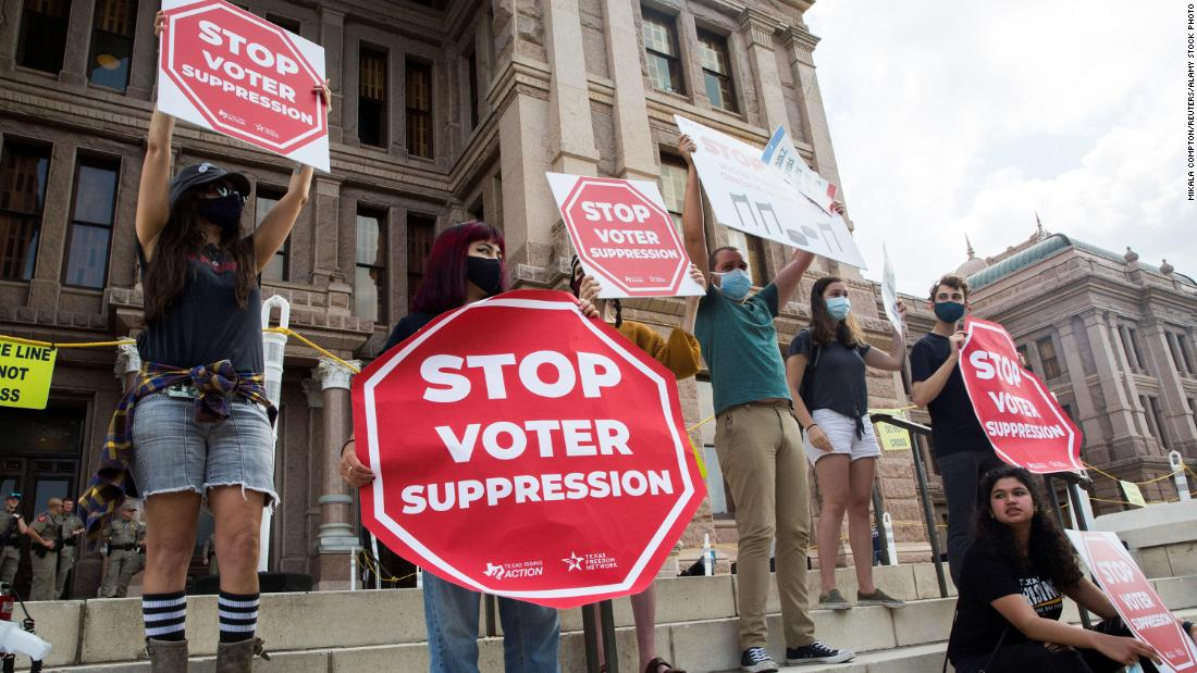 Fed up with Congress, Democratic activists worried about state voter restrictions take matters into their own hands