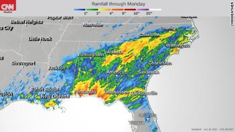 Дождь ожидается на юго-востоке