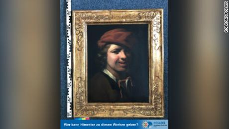 The discovered painting by artist Samuel van Hoogstraten.