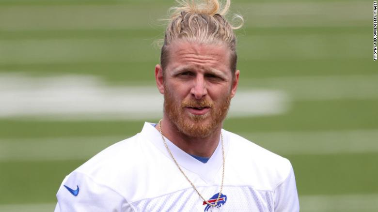 Buffalo Bills' Cole Beasley says he'd rather retire than get Covid-19 vaccine
