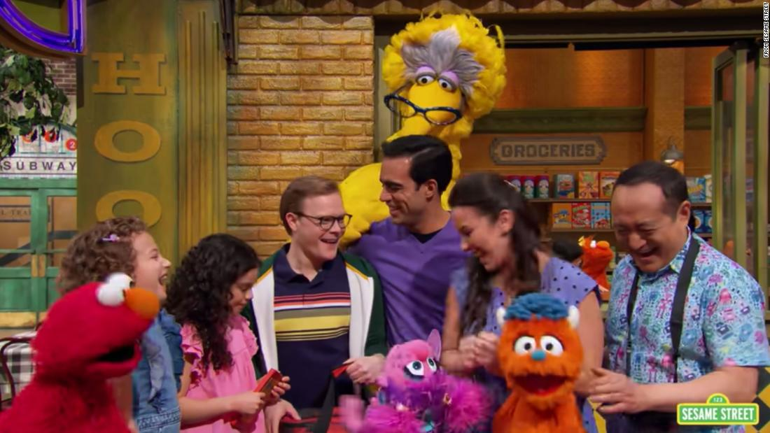 Sesame Street introduces family with two gay dads during Pride Month - CNN