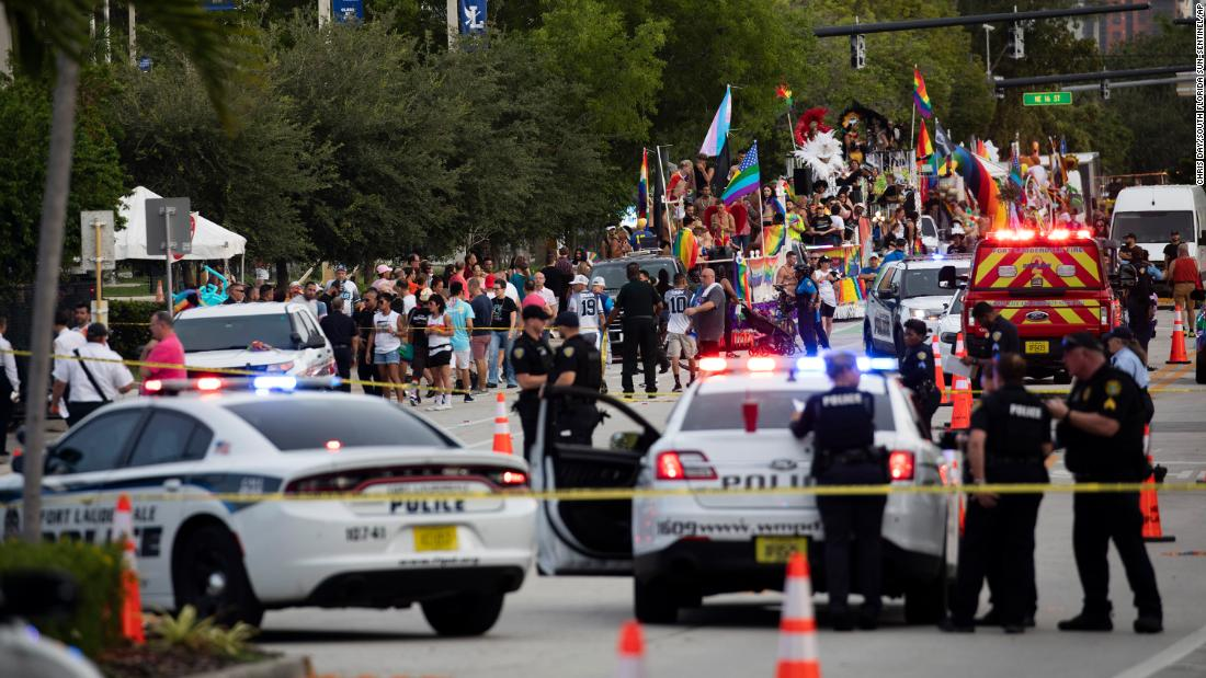 1 person is dead after a truck hit pedestrians at a Florida Pride parade - CNN
