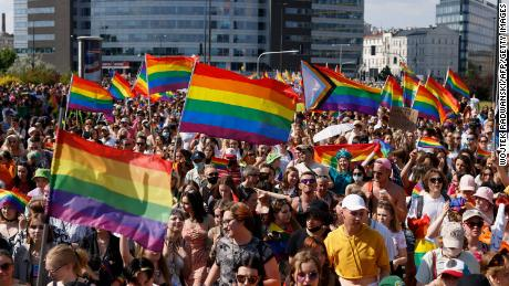 Thousands march for LGBT equality in Polish capital