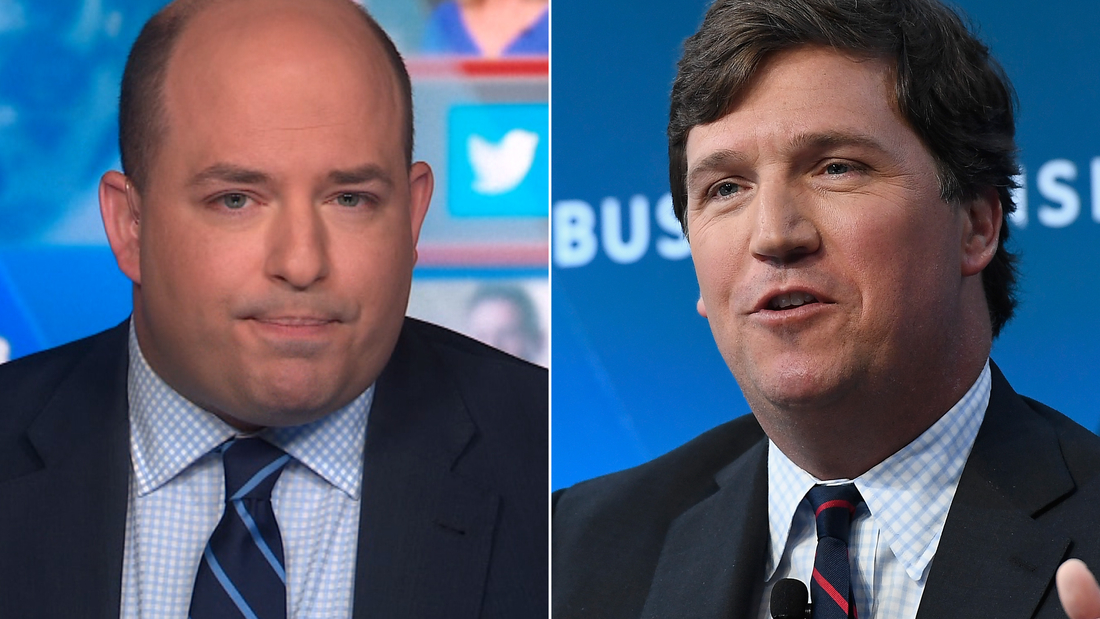Stelter: Why isn't Fox News fact-checking Carlson's claim?