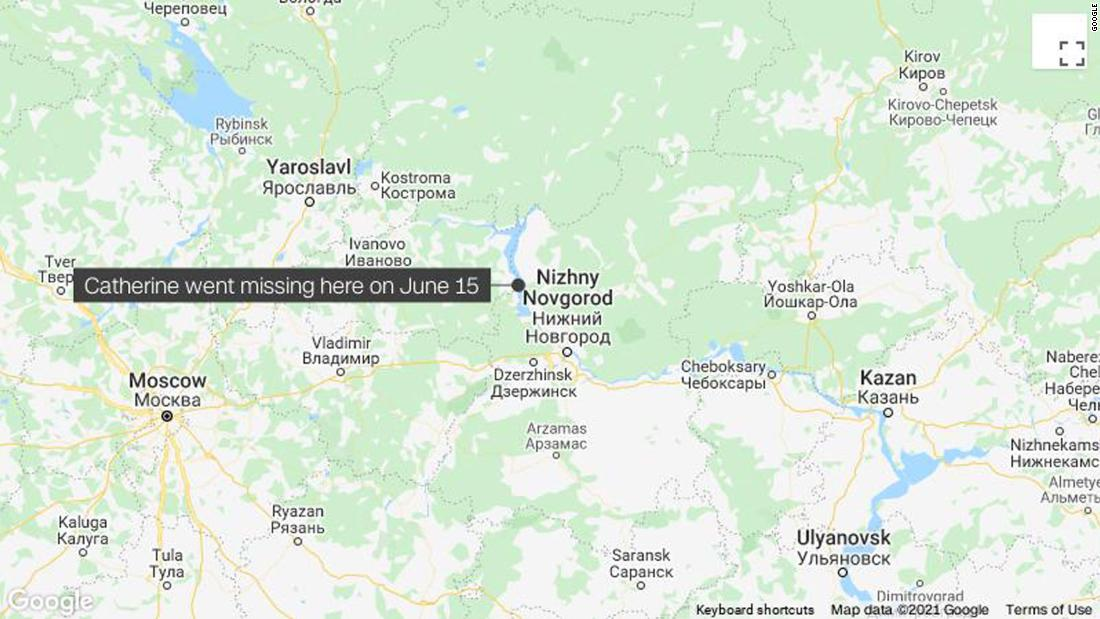 Missing US student found dead in Russia