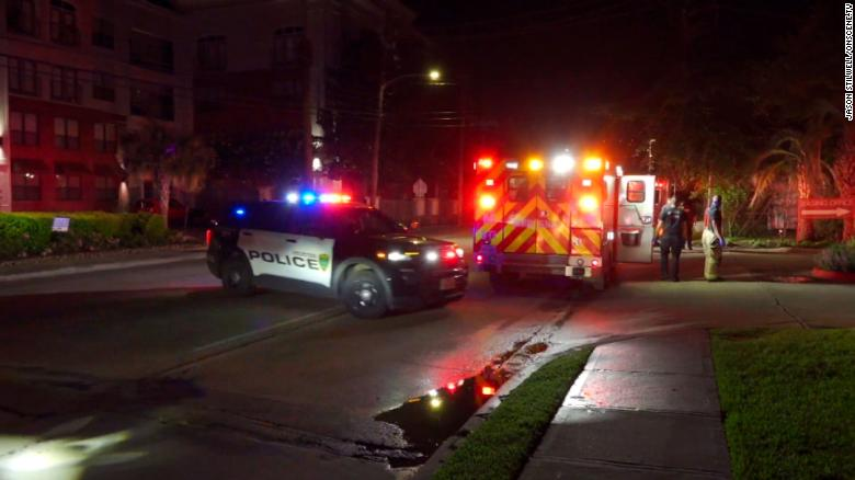 Houston deputy's wife and stepchild shot by gunman inside their apartment, police say