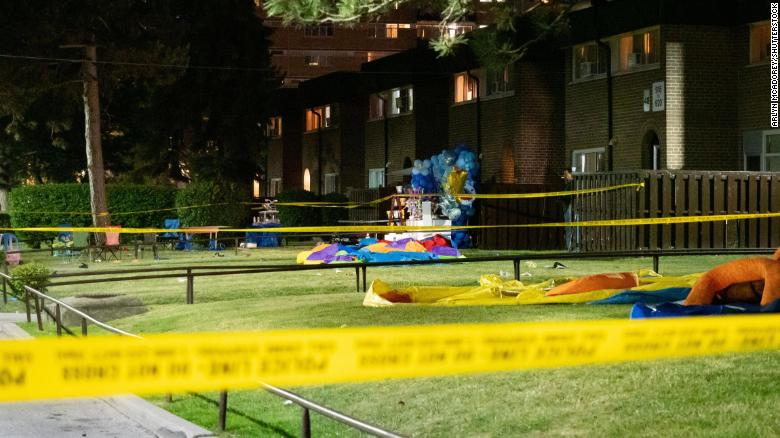 Shooting at party in Toronto leaves 4 injured, including 3 children
