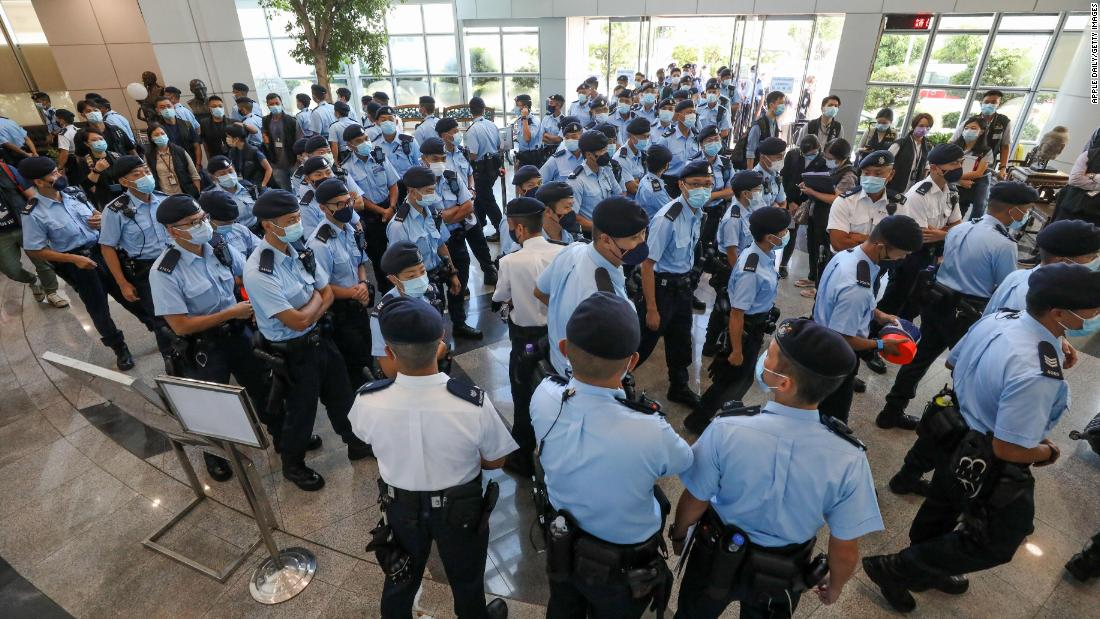 Hong Kong journalist says newsroom raid 'sent shudders through the industry'
