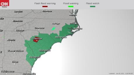 Watches spread toward the East Coast